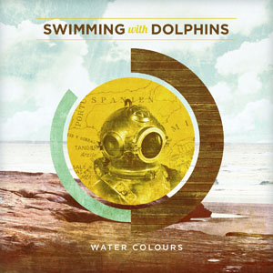 Swimming With Dolphins - Water Colours